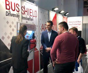 להבות בתערוכה באיזמיר, השקת תקן חדש למערכות אוטובוסים