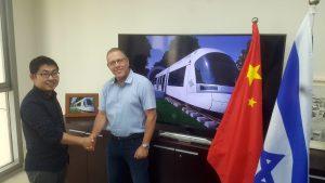 רכבת קלה בתל אביב - חתימה על ההסכם התקנת מערכות כיבוי להבות