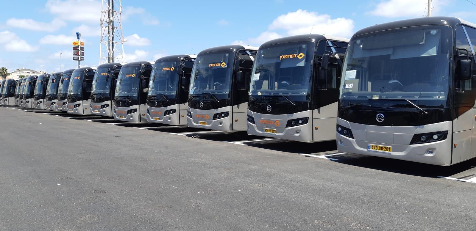 להבות התקנות מערכות כיבוי לאוטובוסים